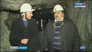 Подготовка к приему туристов в горном парке Рускеала