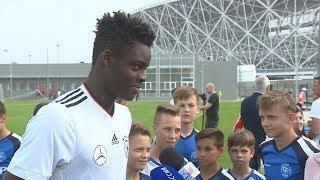 В Волгограде юношеские сборные России и Германии готовятся к матчу