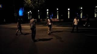 Ливанцы играют в футбол на улицах Ростова