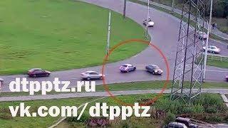 Очередное ДТП на Чапаевском кольце