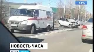 Пострадавший в ДТП на улице Мира в Иркутске водитель Mitsubishi умер в больнице