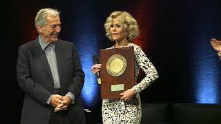 Джейн Фонда получила награду во Франции