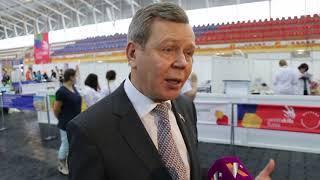 Сергей Абрамов: WorldSkills - это очень хорошая школа профессионального мастерства