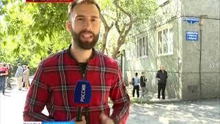 Прямое включение: в Красноярске из-за угрозы обрушения эвакуировали жильцов общежития