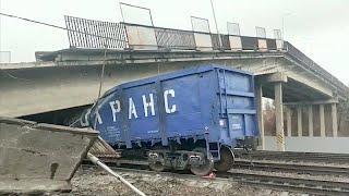 В Приамурье на участок Транссиба обрушился мост