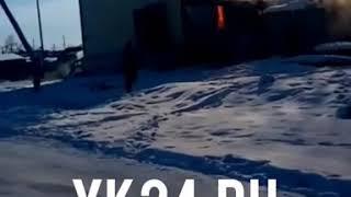 При пожаре в многоквартирном доме в Эльдикане есть пострадавшие — МЧС
