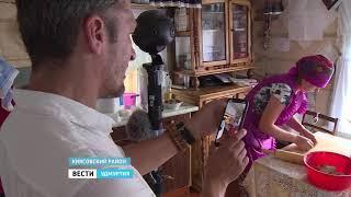 Швейцарский режиссёр снимает кино в Удмуртии