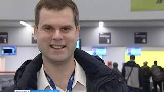 В аэропорту «Храброво» впервые в истории встретили двухмиллионного пассажира