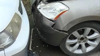Три автомобиля одного концерна попали в ДТП на улице Борисенко