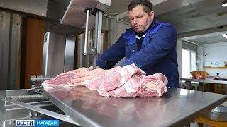 Охлажденная свинина появилась на прилавках магаданских магазинов