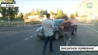 Женщина оказалась в больнице после наезда на неё автомобиля Киа - ТНВ