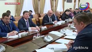 В Правительстве республики рассмотрели вопросы качественного электроснабжения и газоснабжения