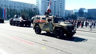 генеральная репетиция парада в Хабаровске 7 мая 2018