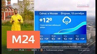 """""""Утро"""": переменная облачность ожидается в Москве 18 сентября - Москва 24"""