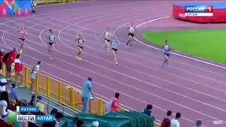 Барнаульская бегунья установила личный рекорд на чемпионате страны