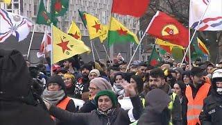 В Германии протестуют курды