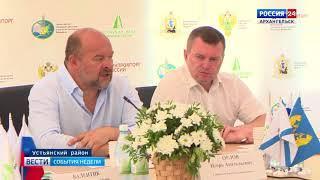 В Устьянах на совещании обсудили проблемы ЛПК региона