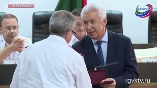 Васильев принял участие в торжественном мероприятии, посвященном Дню сотрудника органов следствия РФ