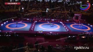 В Каспийске стартовал турнир по вольной борьбе в рамках ЧЕ