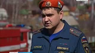 В Красноярском крае введён особый противопожарный режим