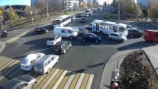 Второе ДТП на перекрёстке Костюкова/Ватутина