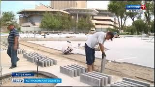 """В парке """"Аркадия"""" уложили свыше 3 тысяч квадратных метров асфальтового покрытия"""