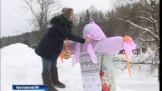 В парке семейного отдыха Ярославля корреспондентам «Вестей» рассказали о масленичных традициях