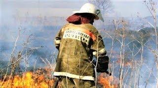 В Нижневартовском районе объявили чрезвычайную пожарную опасность