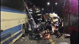 Черкесский и пятигорский автобусы столкнулись в Воронежской области. Трое погибли