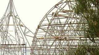 В Геленджик привезли каркасы будущих церковных куполов