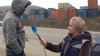Неадекватное поведение водителя стало причиной ДТП на Днепровской