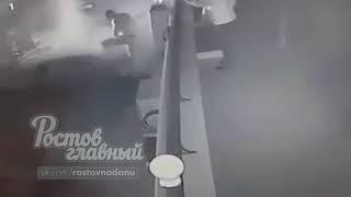 Пожар на Театральной площади 6.3.2018 Ростов на Дону Главный