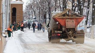 Югорчане недовольны самым безопасным дорожным реагентом