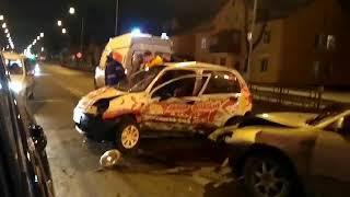 Последствия аварии на проспекте Молодежный