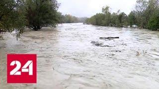 Наводнение на Кубани: погибли 2 человека, один пропал без вести - Россия 24