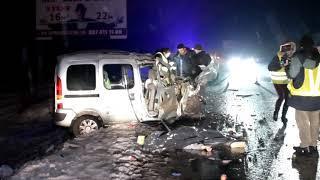 На трассе Киев-Ирпень произошло смертельно ДТП, погибли мужчина и женщина