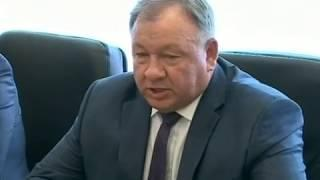 Встреча губернатора и начальника ДВЖД