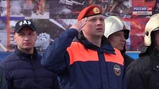 Соревнования пожарных прошли в Петрозаводске