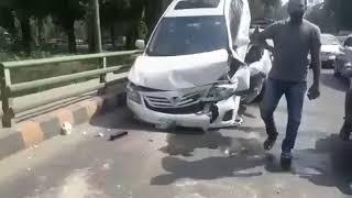 Footage Of Major Accident on Canal Road, Lahore Pakistan