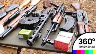 Склад оружия нашли у жителя Солнечногорска
