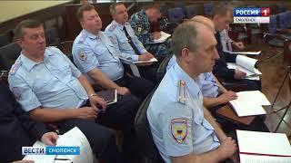 Смоленские полицейские готовятся к школьным выпускным