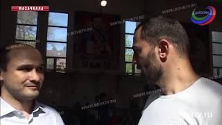 В Махачкале прошел Открытый республиканский турнир по боксу среди юношей