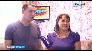 Многодетной семье из Октябрьского возместили расходы на ремонт электропроводки