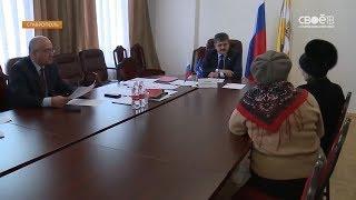 Жители Ставрополья обратились с вопросами к депутату Госдумы страны Александру Ищенко