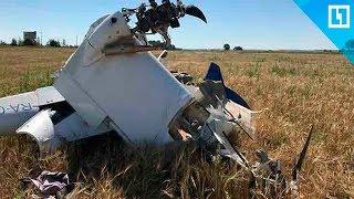 Самолет упал в Подмосковье