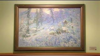 Сейчас поселок Суеватпауль можно увидеть только на картине югорского художника