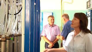 Работу новой системы очистки воды проинспектировал заммэра Биробиджана(РИА Биробиджан)