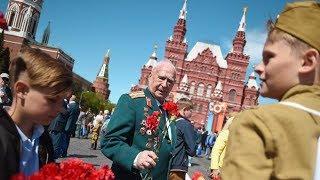 Истребители, ракеты и боевые роботы. День Победы в Москве