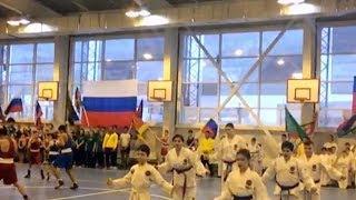Новый спортивный комплекс открыли в Тбилисском районе