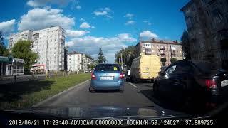 В Череповце мотоциклист скрылся с места ДТП